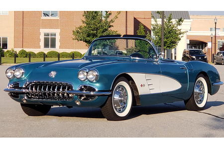 Don Kingore's TKO-Equipped 1960 Corvette