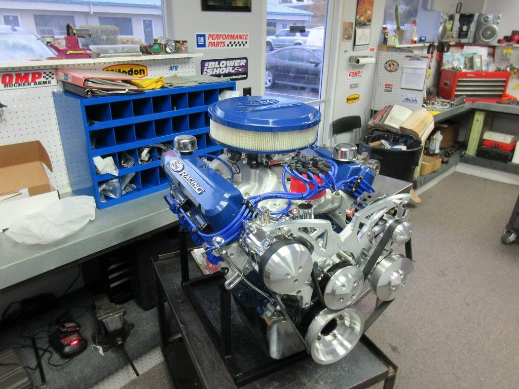 347 Ford Stroker Full Roller Crate Engine With 450 HP