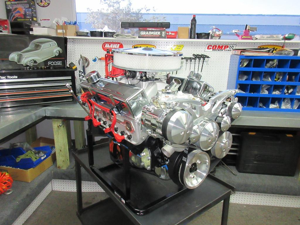 383 Chevy Stroker Crate Engine With 450 HP