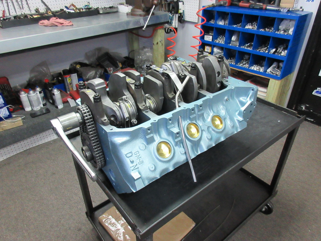 400 Pontiac Crate Engine 450 HP With Aluminum Heads