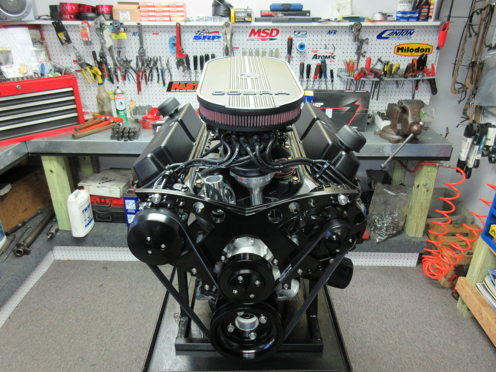 408w Ford Stroker Engine With 450 HP