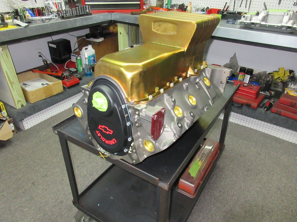 Small Block Chevy Turn Key Crate Engine With Hp on Small Block Chevy Crate Engines Turn Key