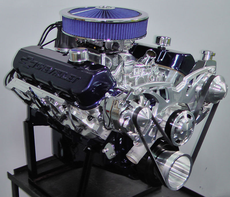 454 big block chevy turn key crate engine with 550 hp. Black Bedroom Furniture Sets. Home Design Ideas