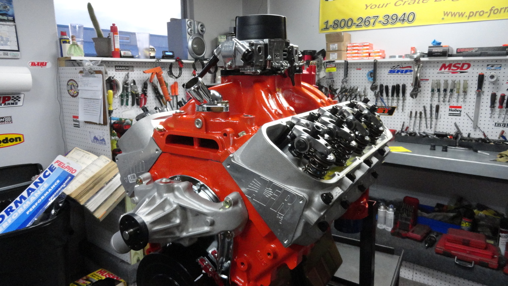 632 chevy big block turn key crate engine with 800hp pulley systems malvernweather Image collections