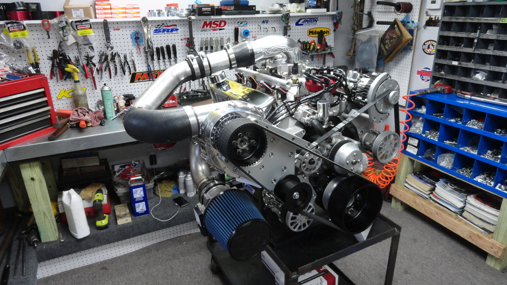 Fuel Injected Procharger W Hp Crate Engine on Ford 427 Fuel Injected Crate Engine