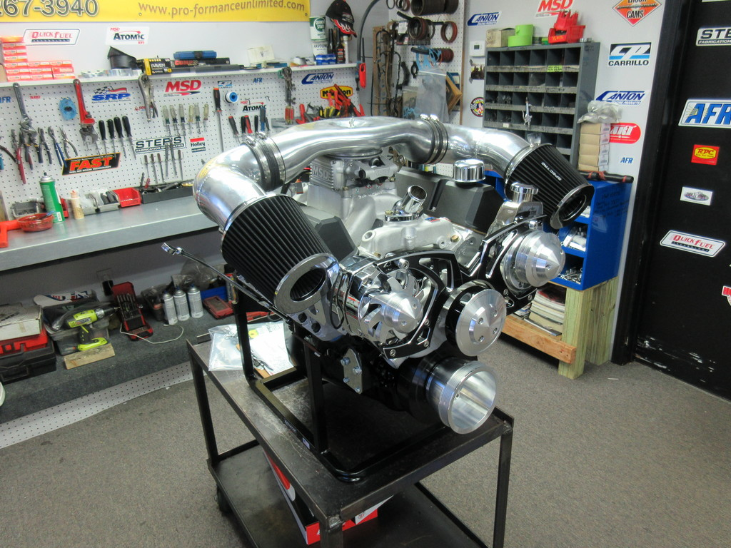 383 Chevy Stroker Turn-Key Crate Engine With 500 HP