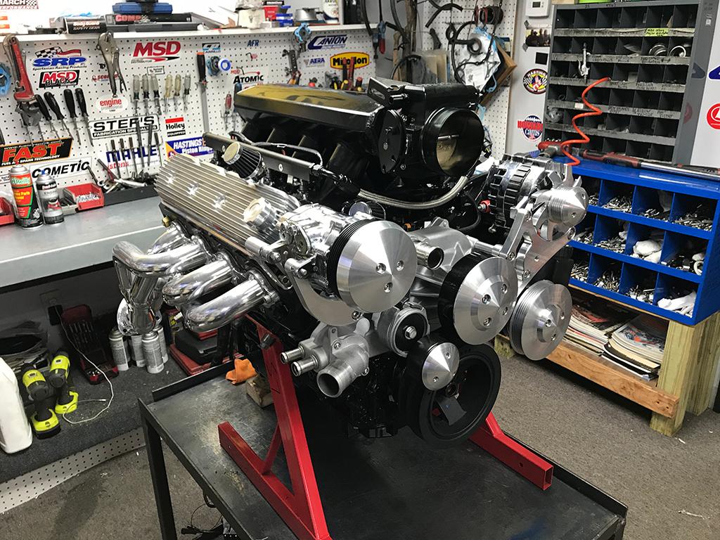LS 327CI 450HP Fuel Injected