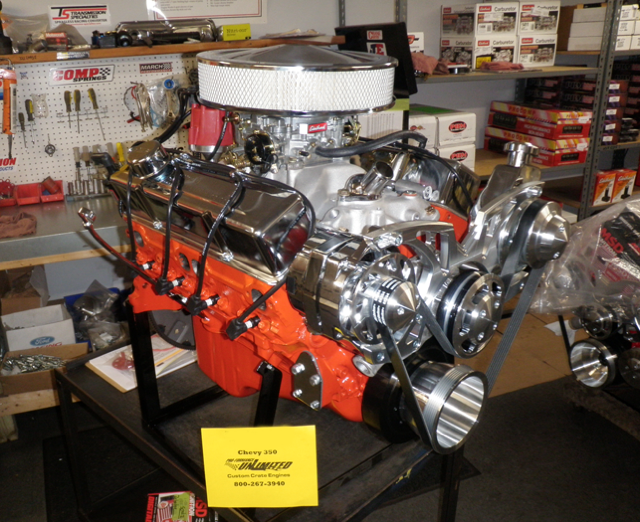350 chevy turn key crate engine with 300hp. Black Bedroom Furniture Sets. Home Design Ideas
