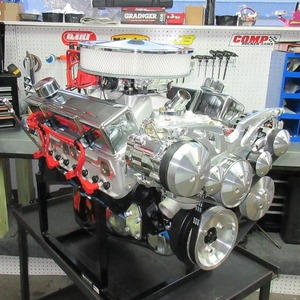 383 Chevy Stroker Turn-Key Crate Engine With 450 HP