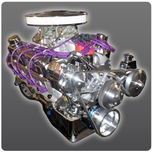 363 Ford Crate Engine 500 HP With Aluminum Heads