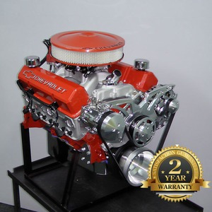 383 Chevy Stroker Turn-Key Crate Engine With 475 HP