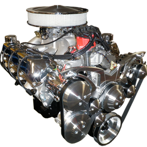 460 - 501 Ford Stroker Full Roller Crate Engine With 500 HP