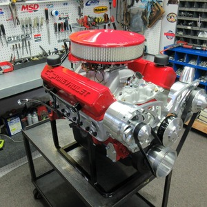 Voted #1 350 CI Chevy Stroker Crate Engine 383/415HP
