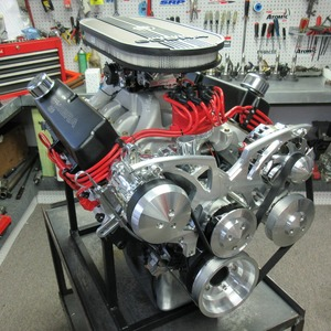 351w Ford Crate Engine With 400 HP With Aluminum Heads