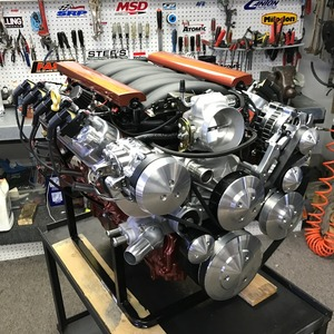LS7 625HP Wet Sump Crate Engine