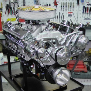 400 Chevy Small Block Turn-Key Crate Engine With 520 HP