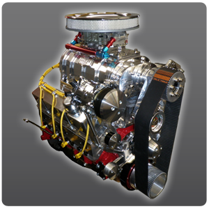 Supercharged 383 Chevy Stroker Turn-Key Crate Engine