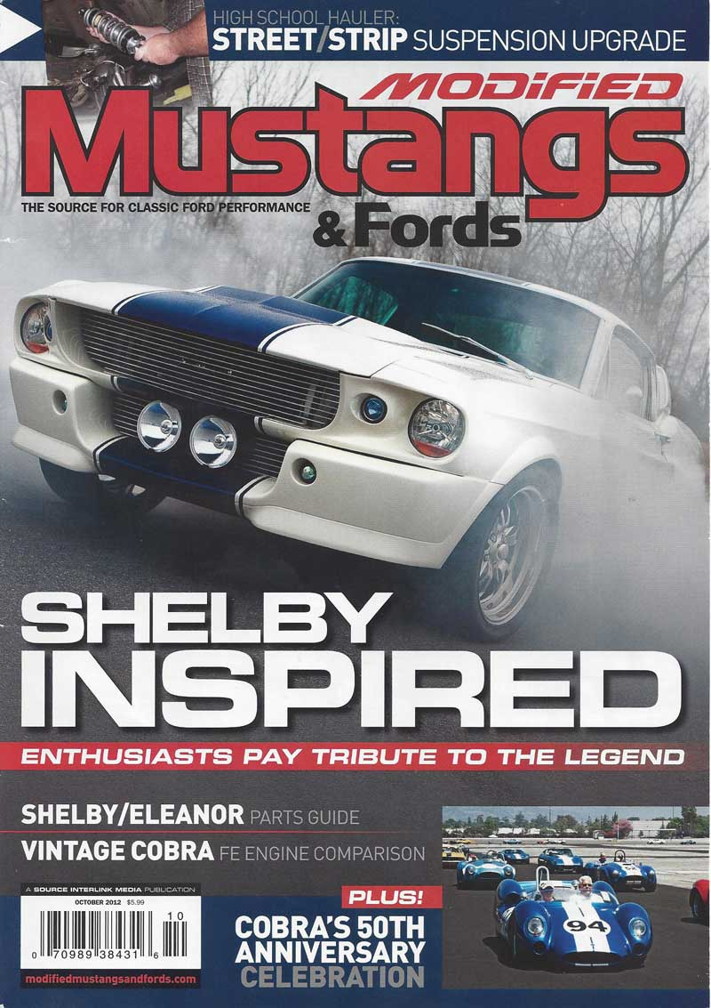 Modified Mustangs and Fords Cover
