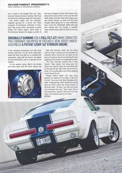 Modified Mustangs and Fords Shelby Under Hood 1