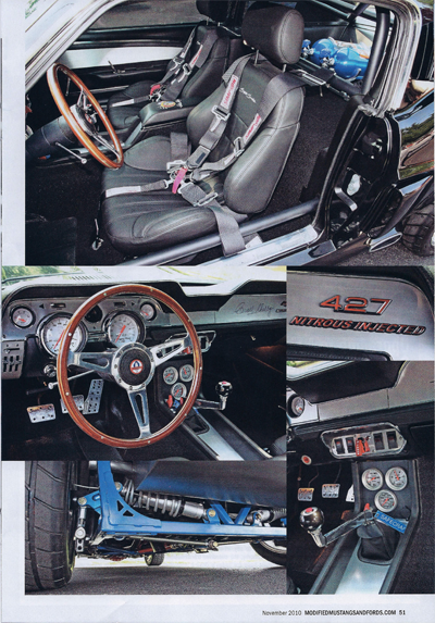 Modified Mustangs and Fords 1967 Mustang Interior 2